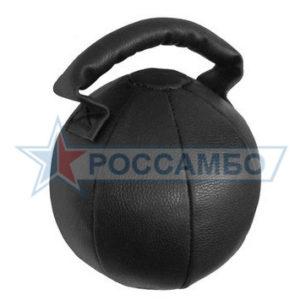 Гиря кожаная 10кг от РОССАМБО