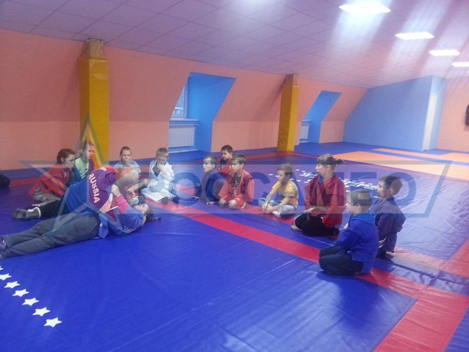 Оборудование зала единоборств от РОССАМБО