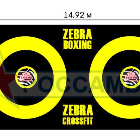 Нестандартный борцовский ковер в фитнес-клуб