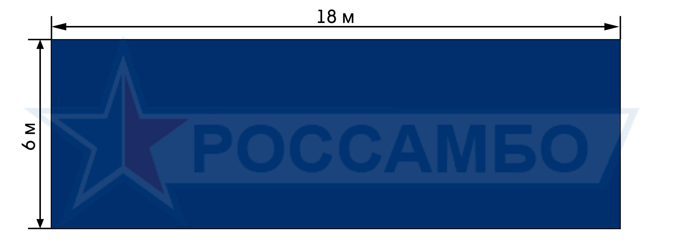 Нестандартное покрытие для борцовского ковра от РОССАМБО
