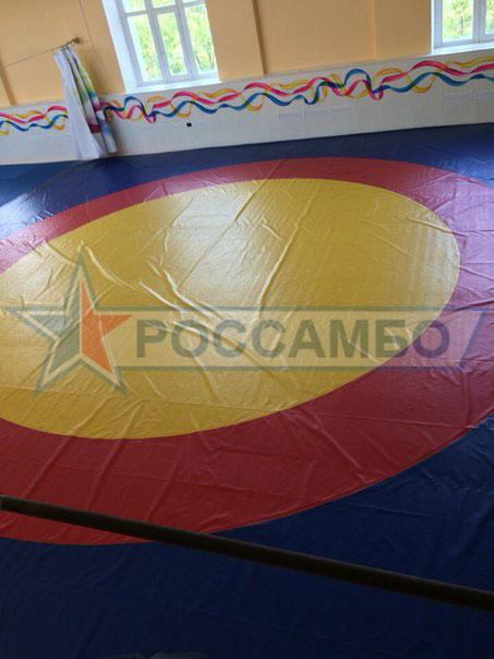 Оборудование для залов единоборств: борцовский ковер и татами для дзюдо от РОССАМБО