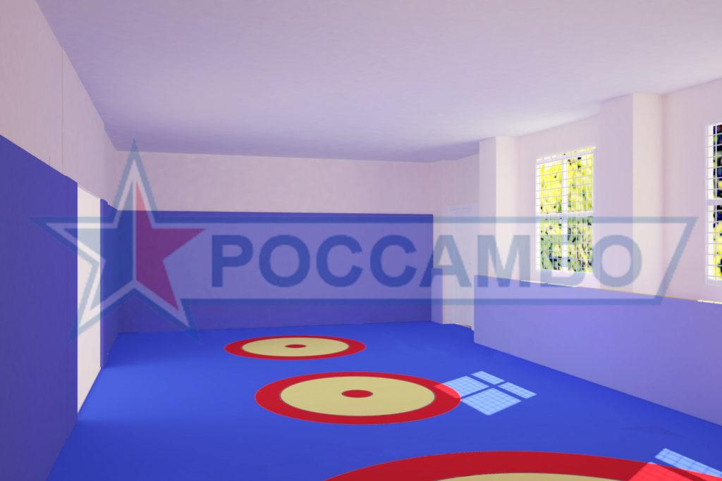 Проектирование борцовского ковра от РОССАМБО