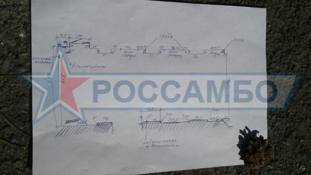 План помещения для РОССАМБО