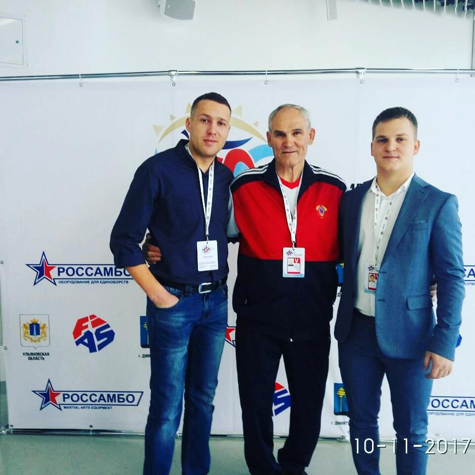 Очень рады были встрече с Александром Михайловичем Пушницей.