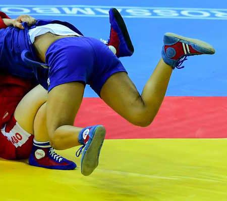 Официальные борцовские ковры Чемпионата мира по самбо 2017 в Сочи