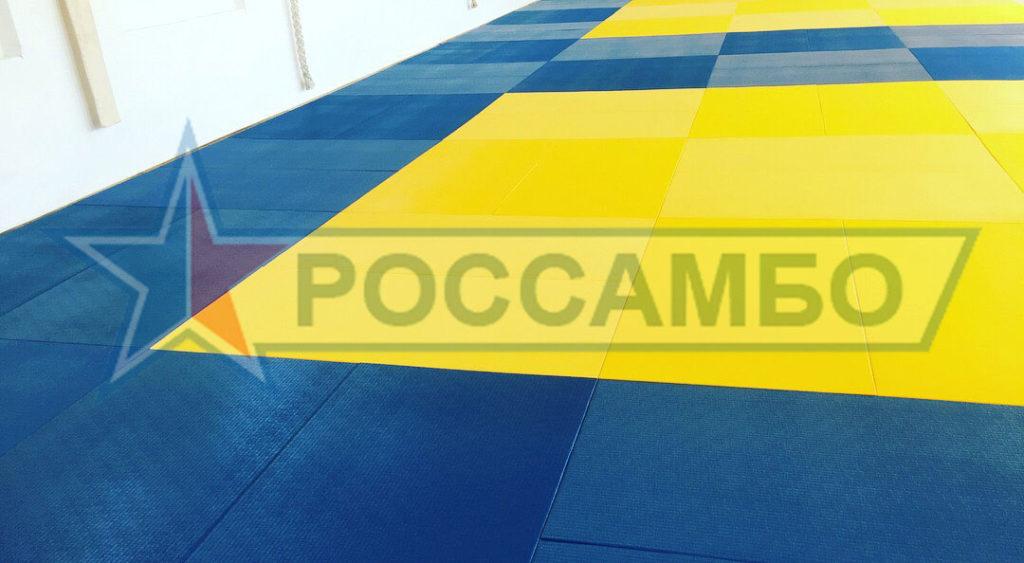 Благодарность за поставку 100 листов татами в Крым в адрес РОССАМБО