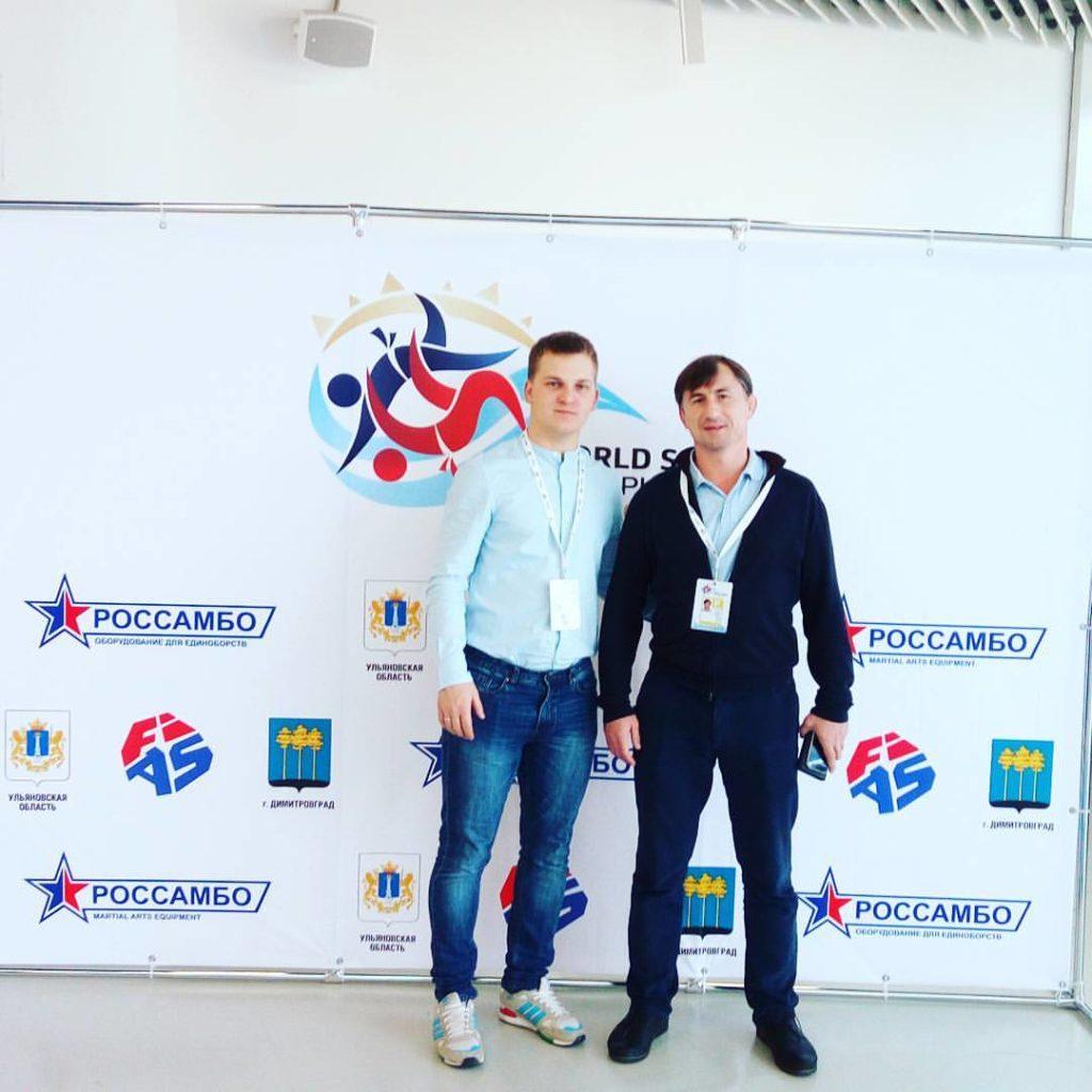 С Михаилом Геннадьевичем Мартыновым связывает давнишняя дружба. Очень приятно было снова встретиться.