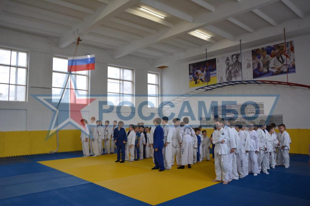 Татами для соревнований по дзюдо в Крым от РОССАМБО