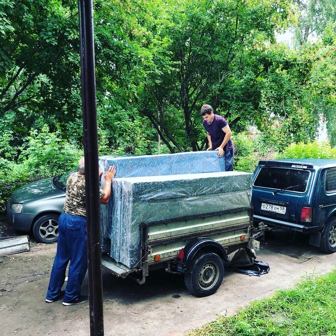 Борцовский ковер для самбо от РОССАМБО. Отгрузка.